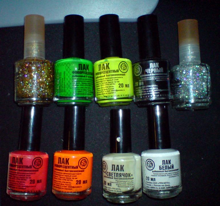 покраска блесен лаком для ногтей