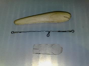 Лопатка для рыбалки своими руками
